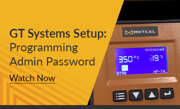 GT Systems Setup - Programming Admin Password